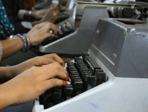 Typewriting courses to be continued till 2019