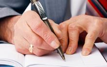 Hiring a business plan writer