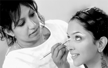 Career as a makeup artist in India